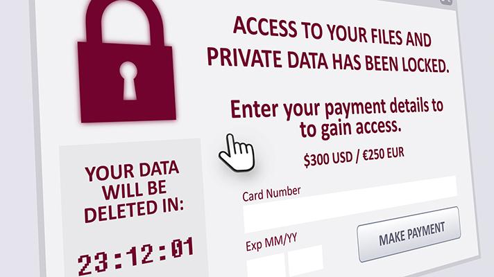 Ransomware Demand